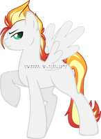 Pony Auction:: Flash Fire [CLOSED] by SILK-RIBBON