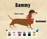 :Commission: Sammy Reference Sheet by ElkeCanus