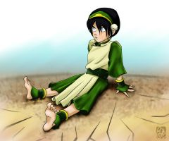 Tough Toph by applejaxshii