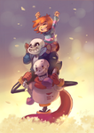 PiggybackTale by EvilQueenie
