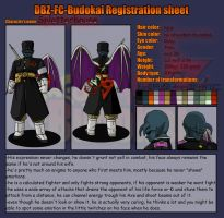 FC-Budokai registration sheet Splatterhouse by Neoluce