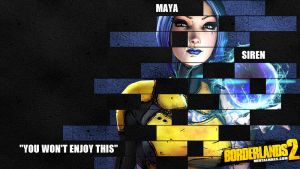 Borderlands 2 Wallpaper - Legacy (Maya) by mentalmars