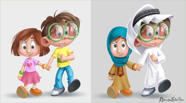 kids by AimanStudio