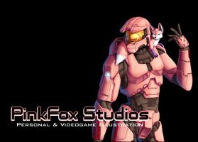 Halo: PinkFoxStudios Splash by Pinkuh