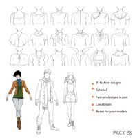 28 pack - Fashion by Precia-T