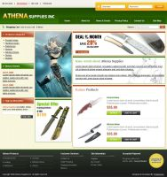 Athena Supplies by xtreamgraphic
