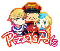 Pizzas Pals by nikkeruu by OldPilot44