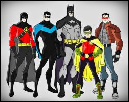 The BatFamily by DraganD