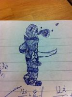Sketch on a mathpaper by TossarN
