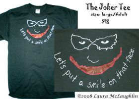 Smile- Tee by Scribble-Chick