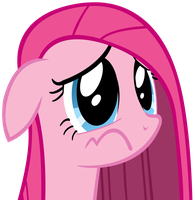 Sad Pinkie by anitech