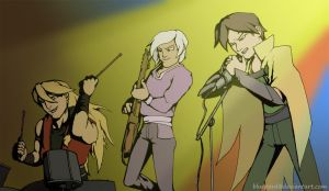 Brodinson Rock Band by bluepard2