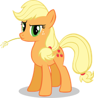 What could've been, and is - Applejack by Doctor-G