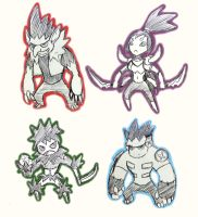 The Monster Gang (Sketch preview) by lukeacioli