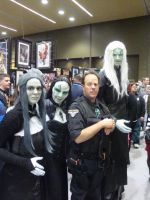 Stargate Atlantis Soldier and Wraiths by Lillagon