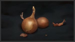 Onions by Icecoldart