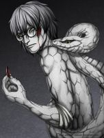 Kabuto: Surprisingly Painful by Yakushi--Kabuto