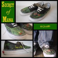 Secret of Mana shoes by Arjan89
