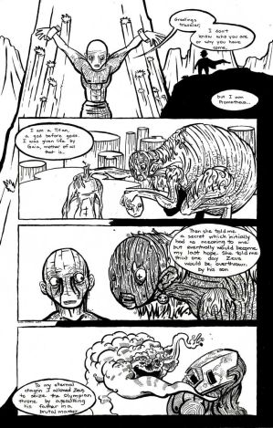 Prometheus Comic Page 1
