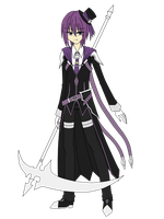 Elsword RP - Aster, 2nd Job (III) - Death Lord by NeneRuki