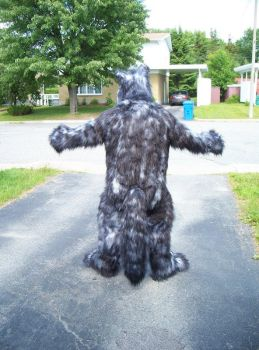 Bleis wolf costume back by Bleis