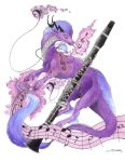 Purple is for Clarinet by Siqeja