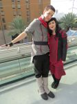 Legend of Korra: Mako and Asami Sato Cosplays by sxymegger
