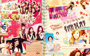 Scrapbook @ Girls' Generation by SuiBlueSheep