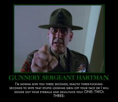 Gunny Hartman by MexPirateRed