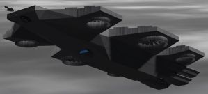 Omega 7 Helicarrier Columbia-V3-B by Roguewing