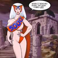 5000 Hits Sorceress by Patches67