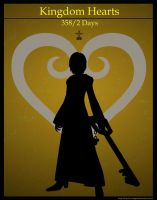 Kingdom Hearts  358/2 Days Poster: Xion by Mysitc-Mage
