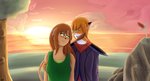 Seiko and Leo (300th Deviation Special) by Psych0Dog