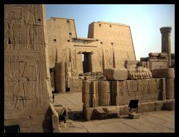 Temple of Horus by greenday862