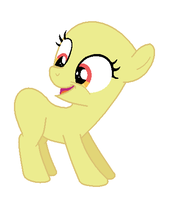 MLP Base: Super Happy Filly! by chocoqueen112