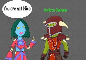 You are not Nice by Idze