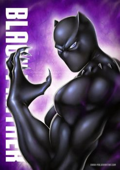 THE BLACK PANTHER by CHOBI-PHO