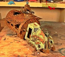 rusty ork scratch build by billking