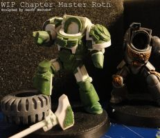 WIP Chapter Master Roth by Tekka-Croe