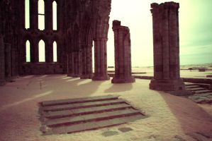 Ruins of Whitby Abbey by egypt04