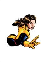 Kitty Pryde Colored by alfred183