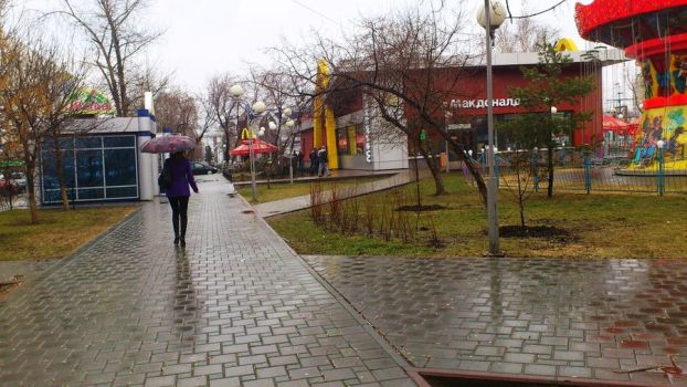 Rain in Tyumen by MR-ENERGYZONA