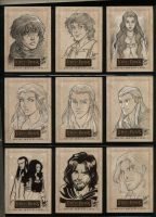 LOTR Masterpieces II 001-009 by aimo