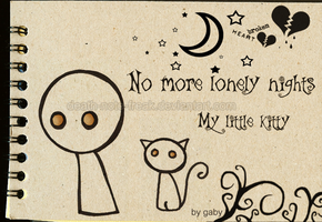 No more lonely Nights by Death-Note-Freak