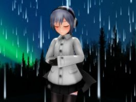 Yufu Stand In The Rain by Sailorsaturn93