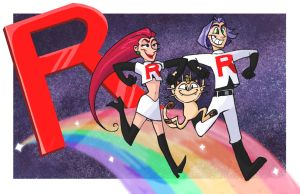 Team Rocket by egriz