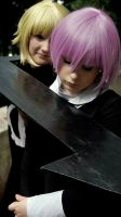 Soul Eater-Chrona and Medusa by Kyooen
