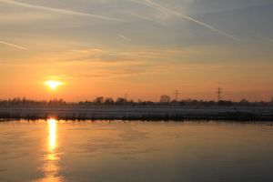 12-12-08 The Sunset 5 by Herdervriend