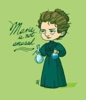 Marie Curie by fydraws