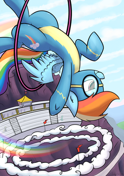 Canterlot Series - Rainbow Dash by SubjectNumber2394